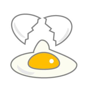 卵(塗り絵バージョン)【無料 ... : 塗り絵 イラスト 無料 : イラスト