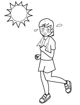 炎天下でのジョギング・運動 ...