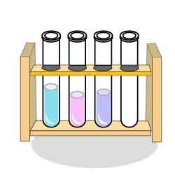 液入り試験管(試験管立て入り ... : 子供 ポスター : 子供